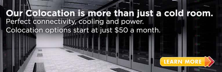 Our Colocation is more than just a cold room.